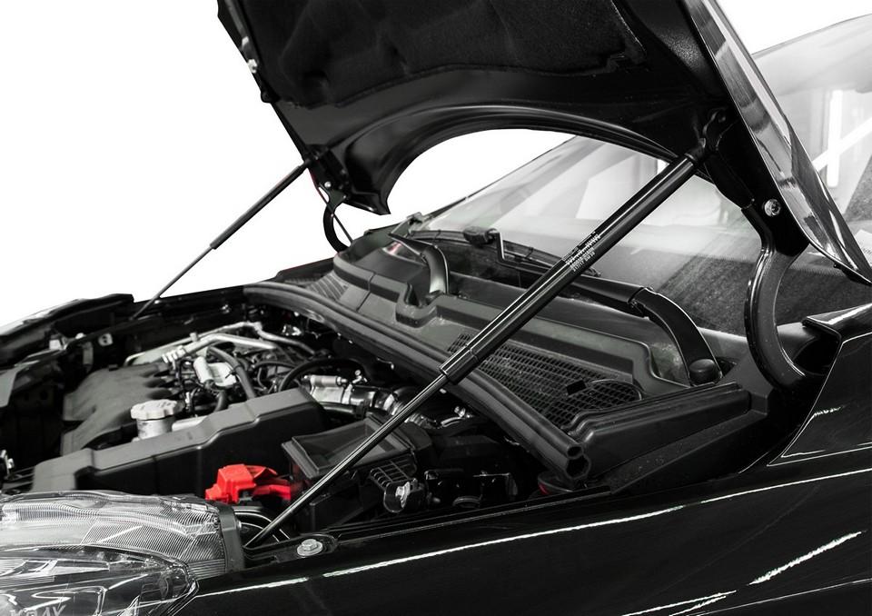 Газовые упоры капота и багажника